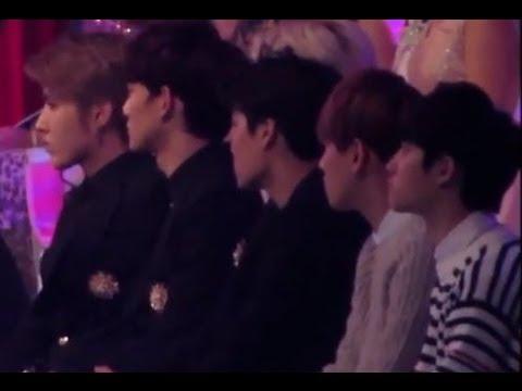 [HD Fancam]131229 EXO watching Expectation