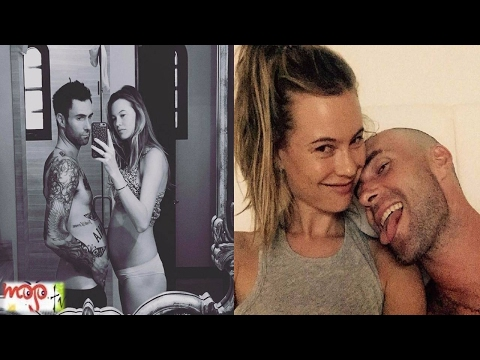 Adam Levine & Behati Prinsloo's Beautiful Moments Ever