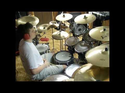 Skillet - Earth Invasion (Drum Cover by JD)