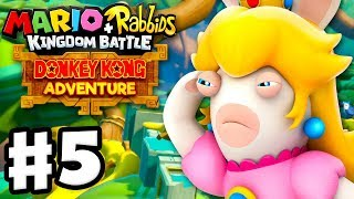 Mario + Rabbids Kingdom Battle: Donkey Kong Adventure DLC - Gameplay Walkthrough Part 5