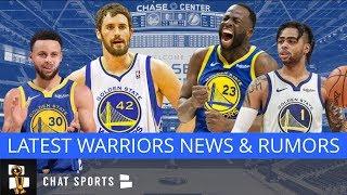 Warriors News: Kevin Love Trade Talk, Draymond Green & Dennis Rodman, DLO Jump Shot & Chase Center