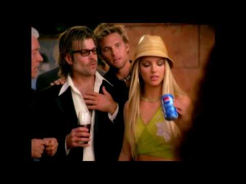 Britney Spears - Pepsi Twist Commercial feat. Austin Powers [Master]
