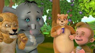 Akkad Bakkad Bambe Bo & many More | Hindi Rhymes for Children | Infobells