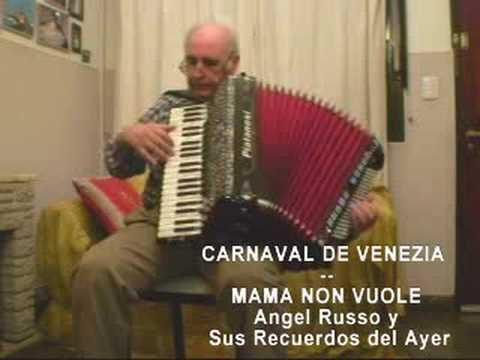 CARNAVAL DE VENEZIA Y MAMA NON VUOLE