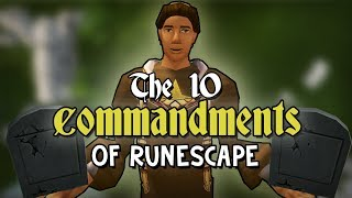 The 10 Commandments of RuneScape