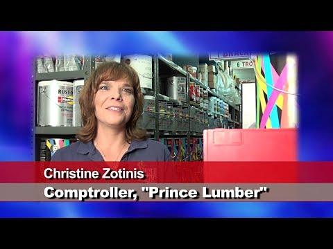 Prince Lumber's Christine Zotinis: PBX-2-VoIP