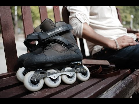 Video ROLLERBLADE Roller Freeskate METROBLADE GM Marron