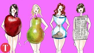 10 Best Ways To Dress For YOUR BODY SHAPE