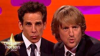 Ben Stiller's Blue Steel vs Owen Wilson's Blue Steel - The Graham Norton Show