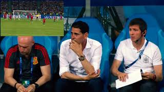 MANAGERS reaction to Ronaldo  Hattrick Free Kick (Portugal vs Spain 3-3) HD