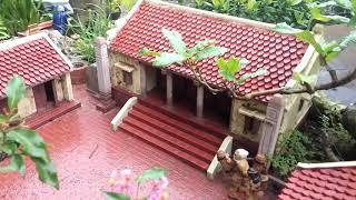 Tiểu cảnh mô hình nhà 1