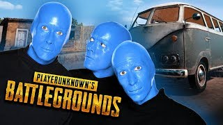 The PUBG Blue Man Group!