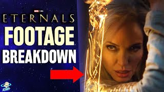 Marvel Eternals Teaser Footage Breakdown & Chloé Zhao Interview