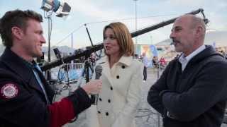 Sochi 2014 Video 36: Today Show Matt Lauer and Savannah Guthrie