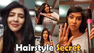 Lakshmi Manchu reveals secret of her hairstyles..