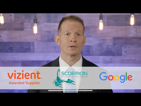 Scorpion Awarded Group Purchasing Contract for Hospital Digital Presence from Vizient, Inc.