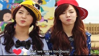 Invincible Youth 2 | 청춘불패 2 - Ep.25: with 4Minute (Hyuna & Sohyun), Park Sangmyun