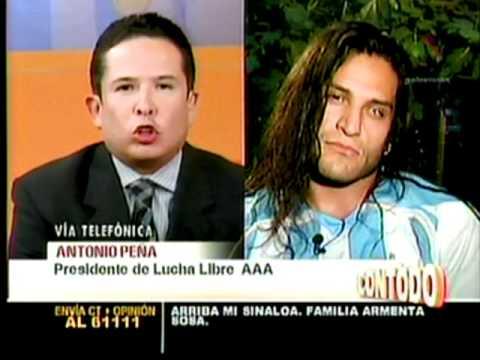 CIBERNETICO CONTRA CONDUCTOR DE TV. GUSTAVO A. INFANTE PART. 2/3