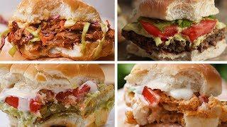 Meatless Sliders 5 Ways