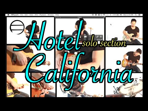 Hotel California (Solo Section) - samuraiguitarist (Eagles Cover)