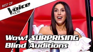 TOP 10 | SURPRISING BLIND AUDITIONS in The Voice Kids PART 2