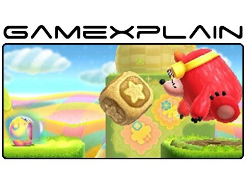 Kirby Triple Deluxe - Screenshot Slideshow - Smashpipe Games Video