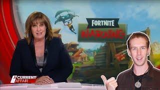 Australian Media VS Fortnite (The Dangers Of Videogames) -- LewReview