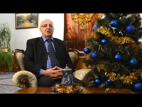 Новорічне привітання ректора Чернівецького національного університету імені Юрія Федьковича
