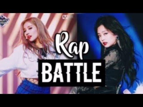 [RAP STYLE BATTLE] (G)I-DLE Soyeon vs BLACKPINK Jennie