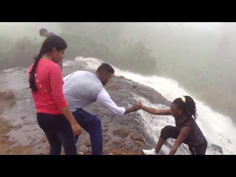 Beautiful Water Fall In Tanzania