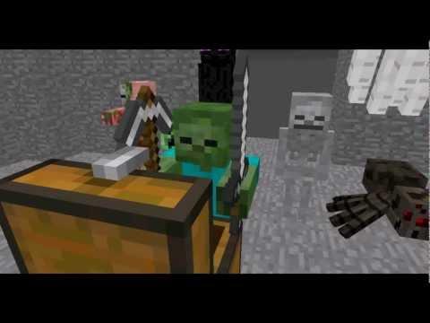 minecraft player school meet the new students monster