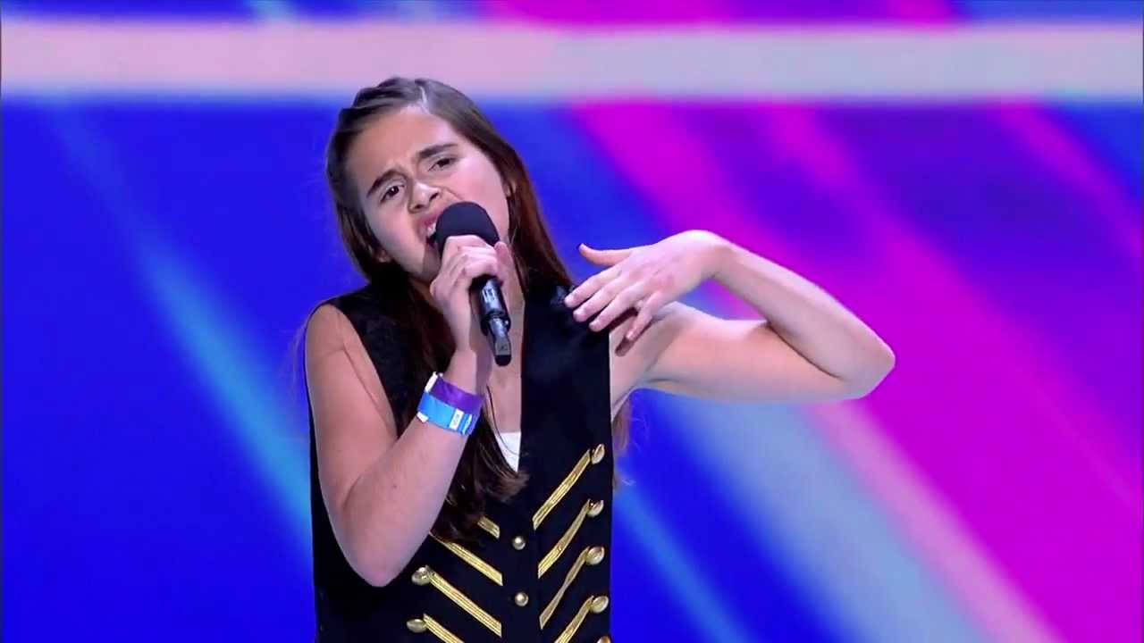 Carly Rose Sonenclar - Audition THE X FACTOR USA 2012 ...