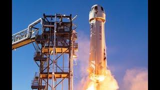 Jeff Bezos Blue Origin historic Space Flight Highlights