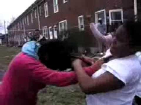 Black Teens Fight 45
