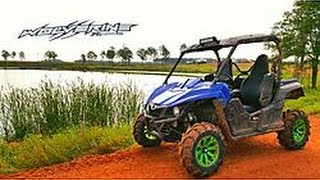 Customized 2016 Yamaha Wolverine R-spec quick review, walk around and drive.