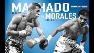 Golden Boy On ESPN: Alberto Machado vs Carlos Morales