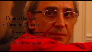 Franco Battiato, Carmen Consoli - Se hai una montagna di neve tienila all'ombra di Elisabetta Sgarbi
