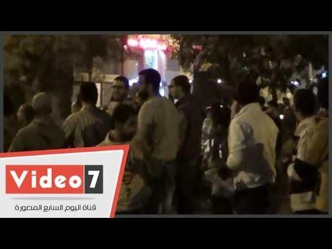 بالفيديو..أهالى جسر السويس يهللون لقوات الشرطة أثناء انصرافها