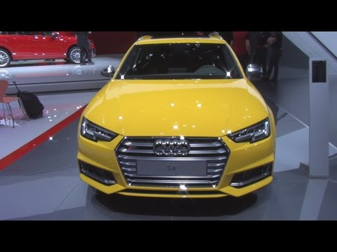 Audi S4 Avant 3.0 TFSI Quattro Tiptronic 260 kW (2016) Exterior and Interior in 3D