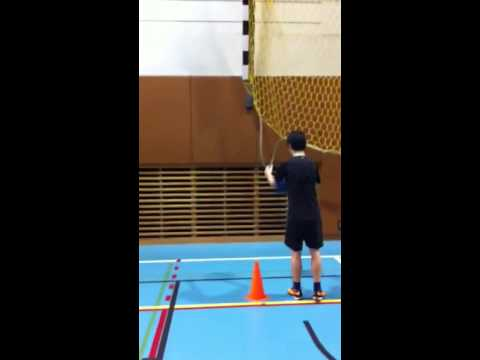 tennis foot work drill