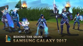Making the SSG 2017 World Championship Team Skins - Behind the Scenes | League of Legends