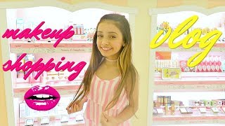 Makeup Shopping VLOG | for FOLLOWING a BEAUTY GURU makeup video TUTORIAL