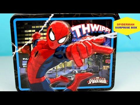 Caja Sorpresa de El Hombre Araña | Spiderman Suprise Box |Mundo de Juguetes