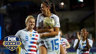 Alex Morgan and USWNT book spot in 2019 FIFA Women's World Cup™ | 2018 CONCACAF Women's Championship