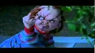 *Middle finger* (Bride of Chucky)