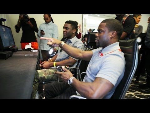 Ride Along Xperience - Playing COD Ghosts With Kevin Hart ...