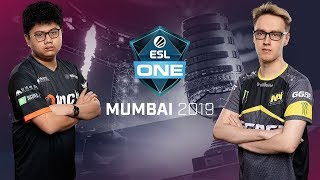 Dota2 - TNC Predator vs NAVI - ESL One Mumbai - Fase de Grupos Dia 2 - Juego 1