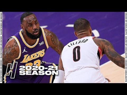 Portland Trail Blazers vs Los Angeles Lakers - Full Game Highlights | February 26, 2021 NBA Season