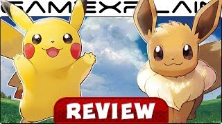 Pokemon Let's Go Pikachu & Eevee - REVIEW (Nintendo Switch)
