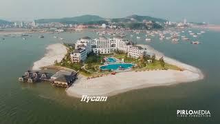 Ngắm cảnh tp hạ long đẹp tuyệt vời qua góc nhìn Flycam